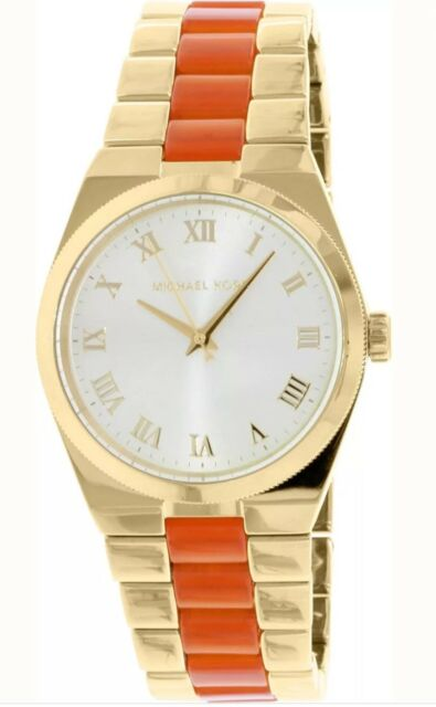 6c6c34a4afa4 Michael Kors Ladies Women s MK6153  Channing  Two-Tone Stainless Steel Watch  New