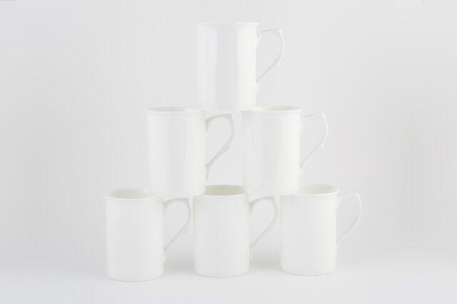 Fine Bone China Set Of 6 Artist Mugs