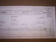 USS SEAWOLF / nautilus  plan