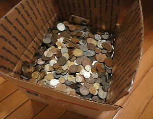 2-POUND-034-BULK-034-WORLD-FOREIGN-COIN-LOTS-034-Kids-Love-Coins-034-94732