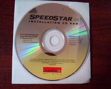 Speedstar Installation CD ROM A90 Diamond Multimedia Ver 1.04 Drivers Windows