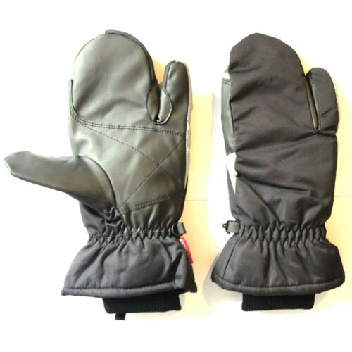Ladies Mittens Thermal Winter 3 Finger Gloves Mitts Fleece Lined Horse Riding
