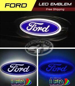 FORD-LED-Badge-Emblem-14-5-5-6-FOCUS-MONDEO-C-MAX-KUGA-Sticker-Logo-Light-Grill