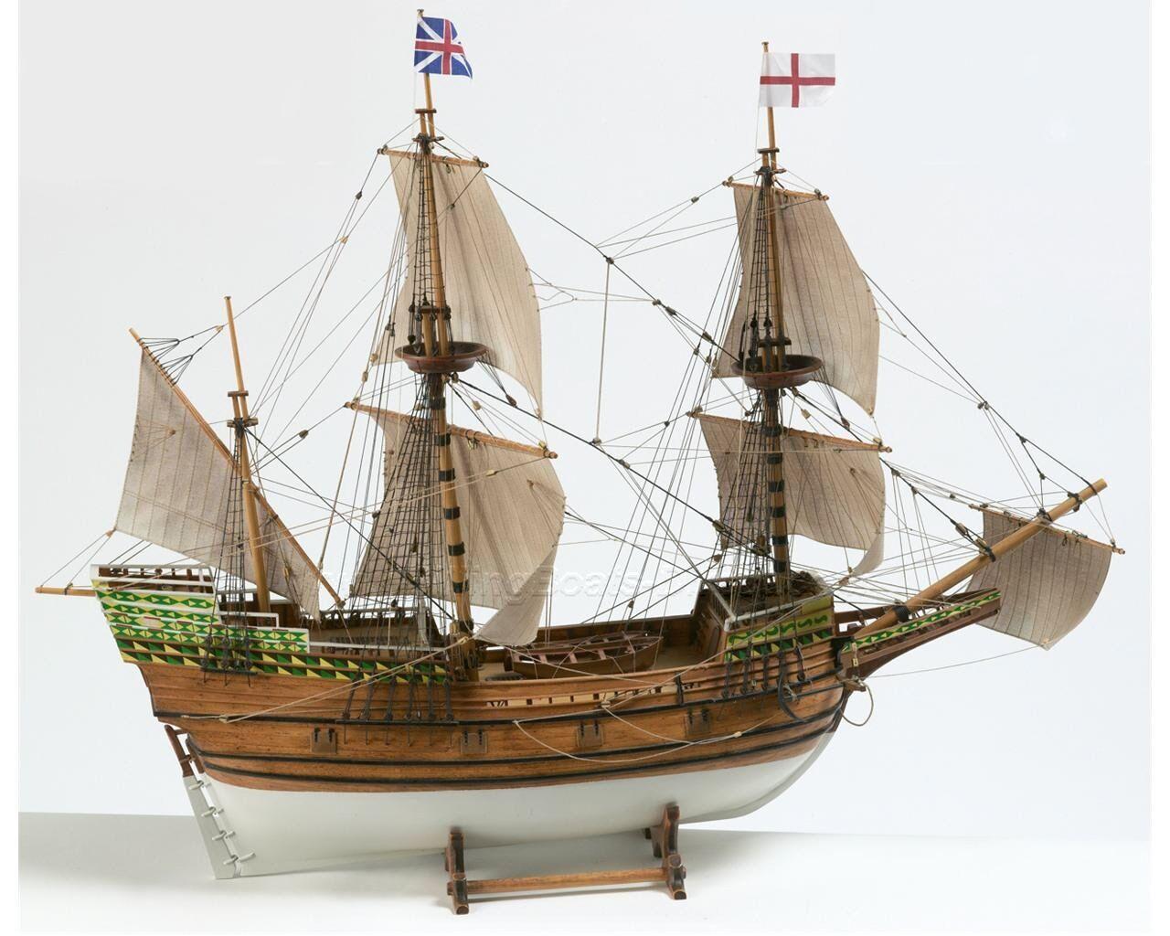 Beautiful, brand new wooden model ship kit by Billing Boats  the  Mayflower