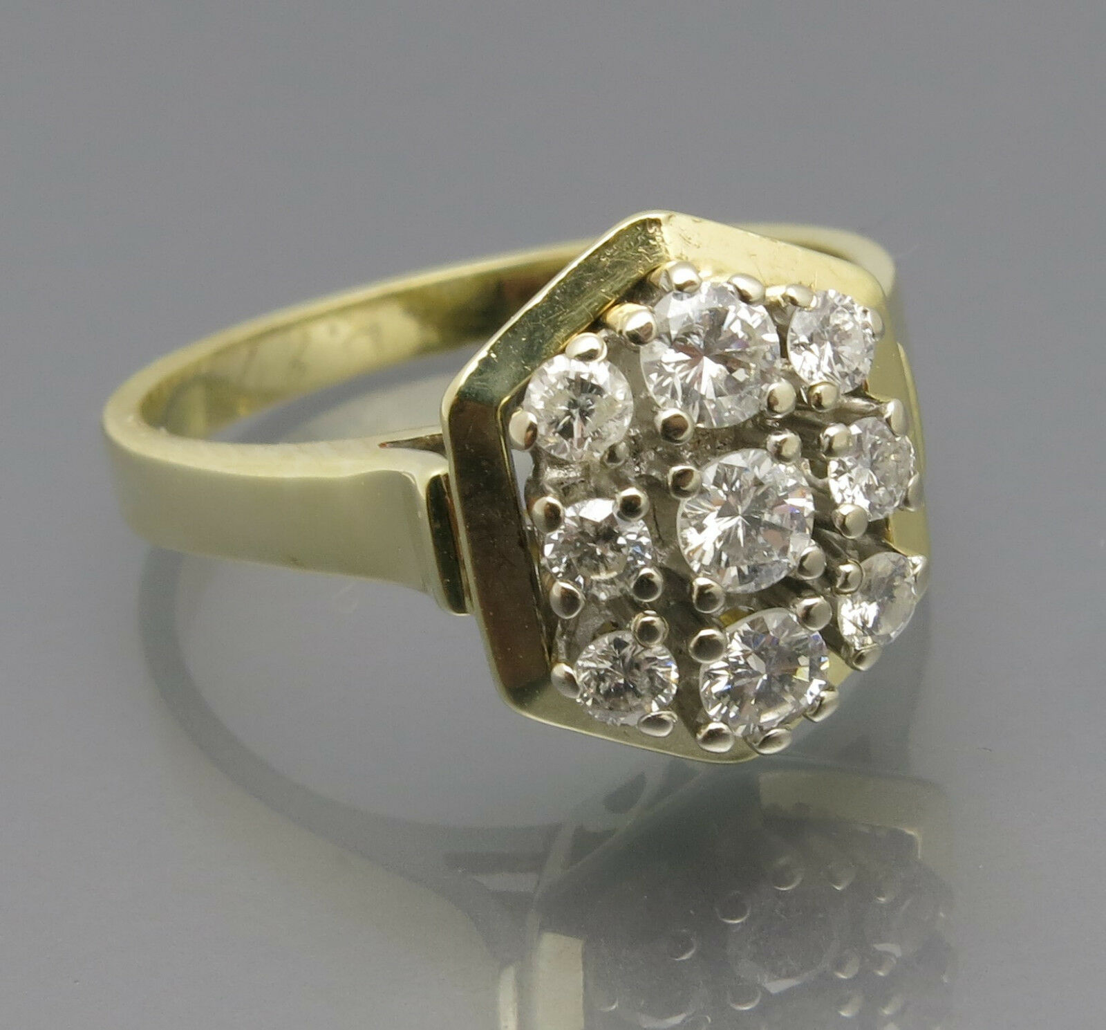 clpr Handmade Diamond Engagement Ring 3.34 Ct Diamond Sterling Silver Ring