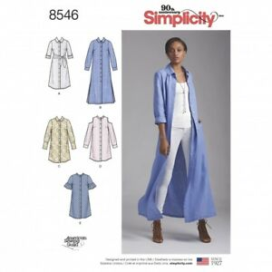 Simplicity Sewing Pattern 8597 FP Simplicity-8597-M Free UK P/&P