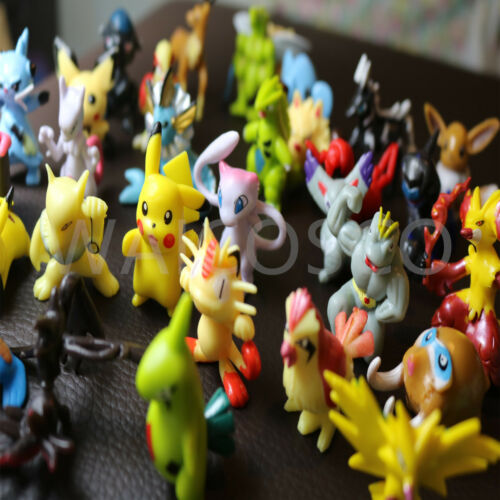 24 PCS Pokemon Large Figures Playset 42mm New UK Seller Fast /& Free Postage
