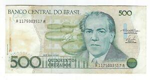 500-Cruzados-Bresil-1986-c189-p-212a-Brazil-billet