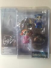 Tim Burton's Corpse Bride – Skeleton Girl And Boy - Series 1 Action Figure Set