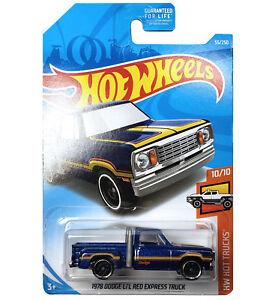 Details About 2019 Hot Wheels 55 250 1978 Dodge Li L Red Express Truck 10 10 Hw Hot Trucks