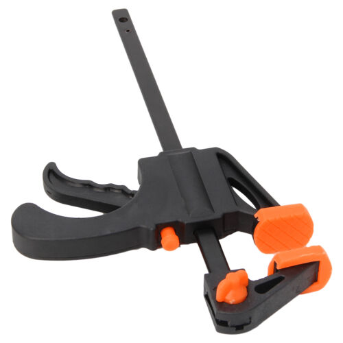 4//6//8//10//12 Inch DIY Wood Working Bar F Clamp Grip Ratchet Release Squeeze Hand