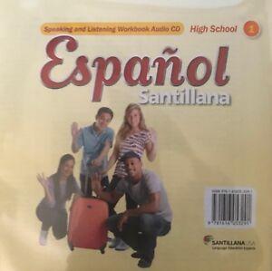 Espanol-Santillana-High-School-Level-1-Speaking-and-Listening-Workbook-Audio-CD
