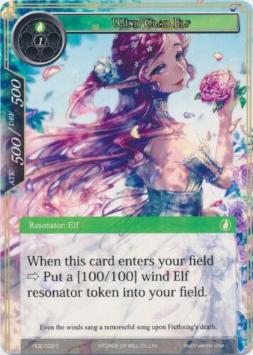 4X FOIL Wind Clad Elf -Common- RDE-032 -NM- FoW Return of the Dragon Emperor