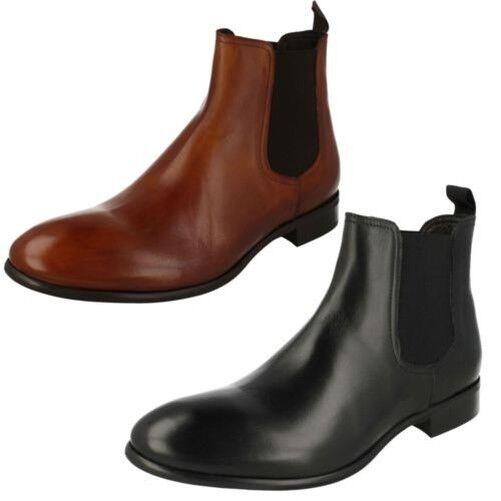 Herren Morena Gabbrielli Smart Chelsea Stiefel - Fa-D1696