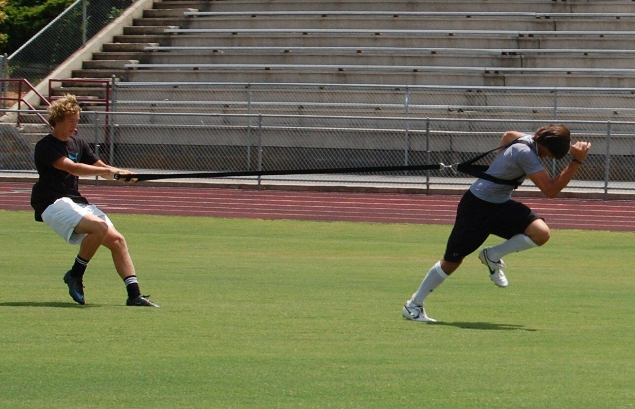 2 Shoulder Harness Resistance strap Strength Power Training Speed Fitnes sprint
