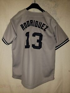 detailed look fe33f f028d Details about Boy's Alex Rodriguez New York Yankees Russell Jersey