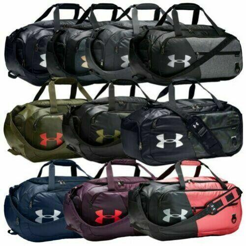 Under Armour Undeniable 3.0 Black Duffle Bag Medium UA Storm Sports Gym 1300213