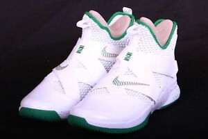 cfac45b4d92f Nike Mens Lebron Soldier XII 12 SVSM Home White Green Gold AO2609 ...