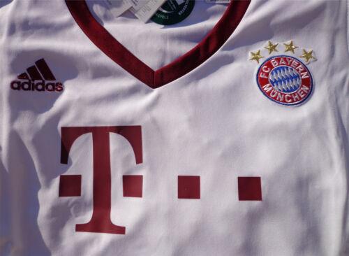 BAYERN MÜNCHEN UCL Trikot Jersey Größe XL NEU ADIDAS Damen//Women FCB weiss