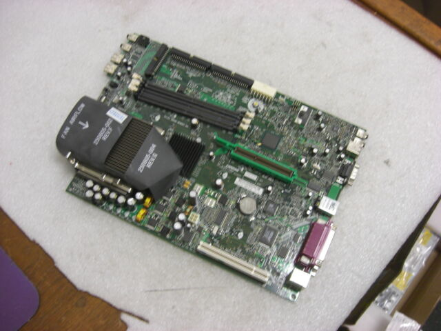COMPAQ 277499-001 253219-001 MOTHERBOARD W// CPU AND HEAT SINK
