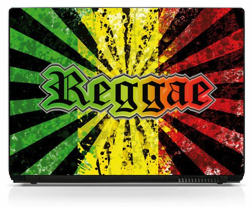 Sticker pc portable skin autocollant Reggae réf 196
