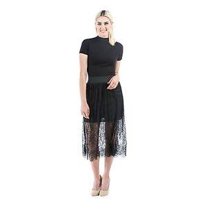 c128da2ae25a Summer Women Gauze Through Mesh Lace Sheer Floral Gothic Long Maxi ...