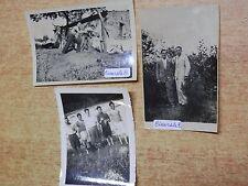 vecchie foto CICERALE 1936 epoca fascista bovini casa campagna Salerno fiume di