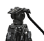 Professional-Heavy-Duty-DV-Video-Camera-Tripod-with-Fluid-Pan-Head-Kit-72-Inch miniatuur 2