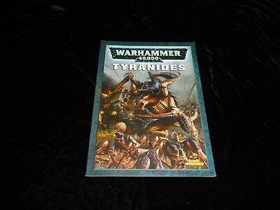 Bellissimo Warhammer 40000 : Codex Tyranides Editions Games Workshop 2004 Sconto Online