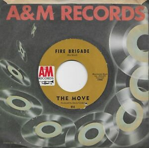 THE-MOVE-Fire-Brigade-Walk-Upon-The-Water-45-from-1968-ROY-WOOD-JEFF-LYNNE