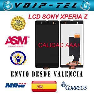 PANTALLA-COMPLETA-SONY-XPERIA-Z-L36H-C6602-C6603-AAA-LCD-DISPLAY-TACTIL-NEGRO