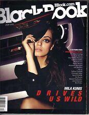 MILA KUNIS BLACK BOOK BLACKBOOK Magazine 12/09 RYAN GOSLING TAYLOR KITSCH PC