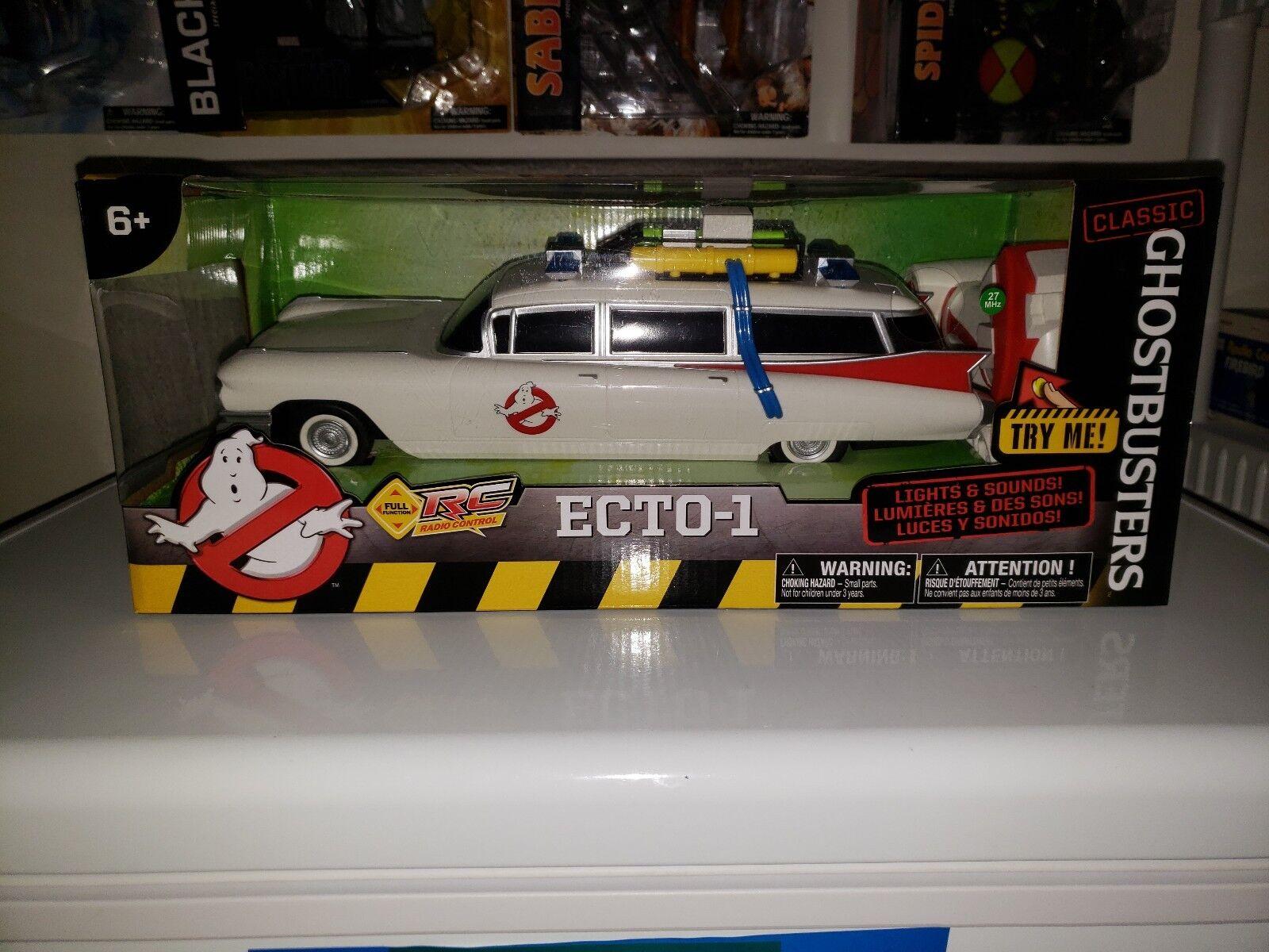 Vehículo Ghostbusters Ecto - 1 Clásico función completa radio control Empuñadura vehículo 14