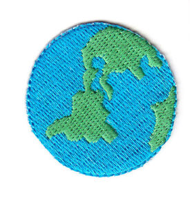 LOVE EARTH Iron On Patch Astrology Universe