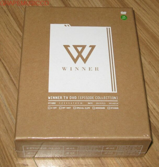 WINNER TV DVD EPISODE COLLECTION 4 DISC + PHOTOBOOK + FILM BOOKMARK + STICKER