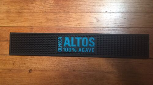 OLMECA ALTOS 100/% AGAVE RUBBER BAR RUNNER COUNTER SPILL MAT