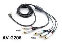 6ft Premium 5-rca Component A/v Cable For Sony Slim Psp 2000 3000, Av-g206
