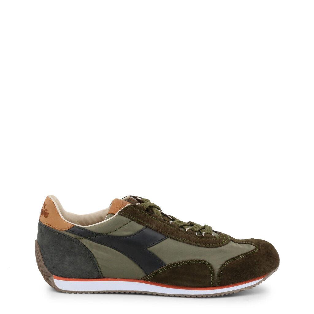 zapatos DIADORA hombres EQUIPE_ITA_C7167 HERITAGE PELLE scamosciata zapatillas verde