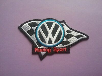 MOTORSPORTS RACING CAR VAN TRUCK SEW ON /& IRON ON PATCH: PATCH TITLE TO FOLLOW
