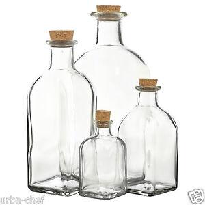 3 6 9 12 bouteille en verre pots flacons liège couvercle bouchon cuisine stockage des aliments salière poivrière set-afficher le titre d`origine iECp8o0i-07201647-569316120