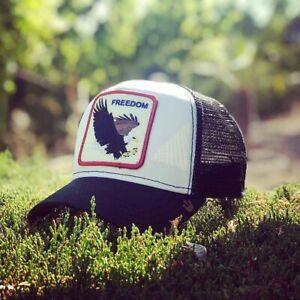 54e350c41e Goorin Bros Animal Farm Trucker Baseball Hat Cap Freedom American ...
