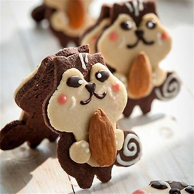 DIY  Raccoons Baking Modelling Biscuit Sugar Cookie Fondant Cake Paste Cutter