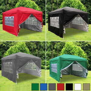 3x3m-Garden-Pop-Up-Gazebo-Marquee-Party-Tent-Wedding-Canopy-4-Sides-7-Colours