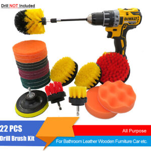 22Pack-Cleaning-Drill-Brush-Cleaner-Combo-Tool-Kit-Electric-Drill-Power-Scrubber