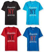 Aeropostale Mens Aero Oversized Ny Logo Graphic T Shirt Tee S,m,l,xl,2xl,3xl