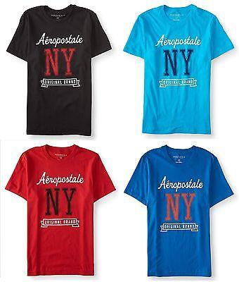 Aeropostale Mens Aero Logo Est 1987 Graphic T Shirt Tee S,M,L,XL,2XL,3XL NEW NWT