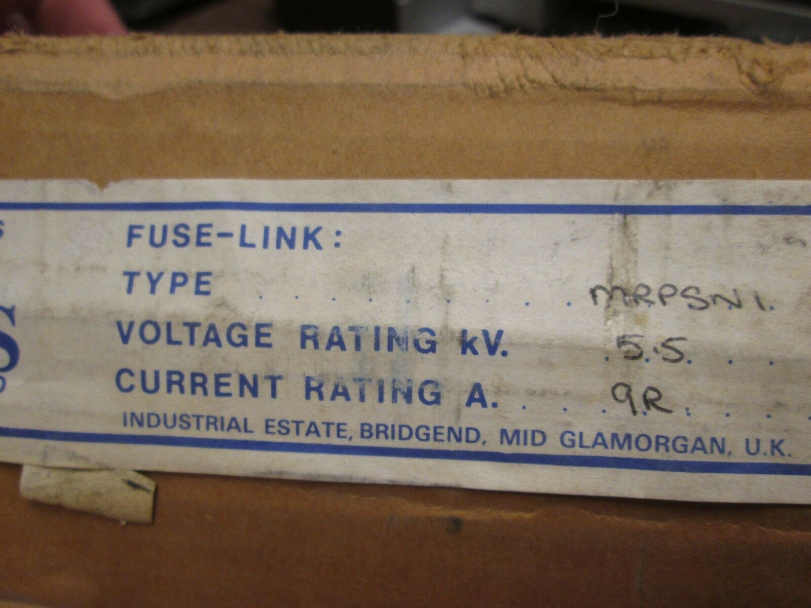 Westinghouse Fuse Style 6379D26H07 130A 5.5 KV Interr. Rating at 50//60 NIB 4R