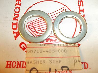 NOS OEM 1977 to 1990 Honda CB CM XL NX Washer 50712-405-000