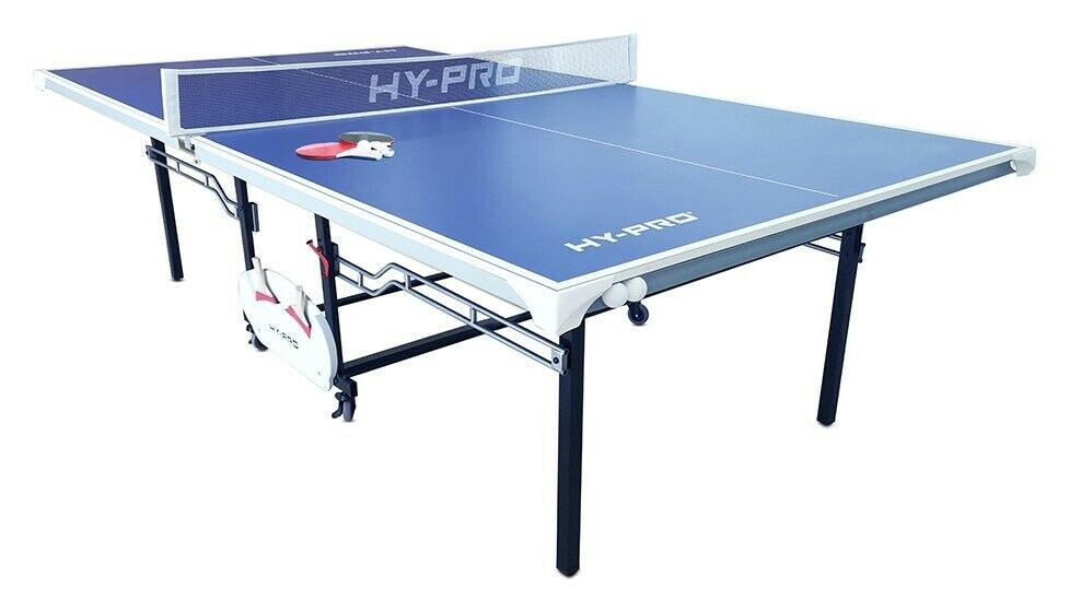Hy-Pro 9ft Indoor and Outdoor Table Tennis Table.