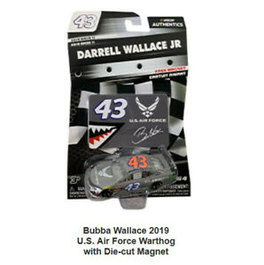 NASCAR-Authentics-2019-Wave-11-Bubba-Wallace-43-U-S-Air-Force-1-64-Diecast
